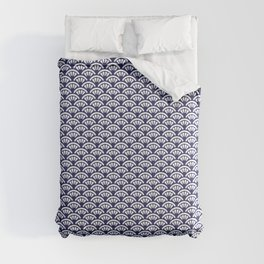 Decorative Seigaiha // Japanese Collection Comforters