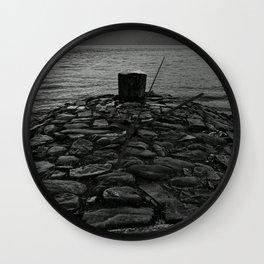 'Loch Ness Mooring' Wall Clock