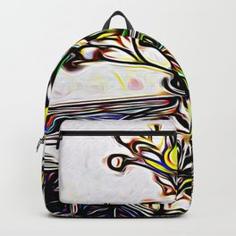 Shadow Flowers Backpack