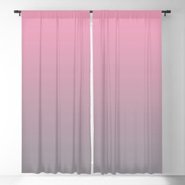 Gradient Blend Pantone 2021 Color of the Year Ultimate Gray 17-5104 And Prism Pink 14-2311 Blackout Curtain
