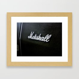 Marshall Framed Art Print