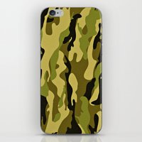 army iPhone & iPod Skins featuring ARMY by Sophie