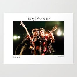 Birds in the Boneyard, Print One: Petey and Mikey on the Mic Art Print