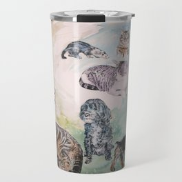 Animal Colage Travel Mug