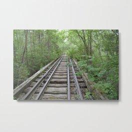 Train to Nowhere Metal Print