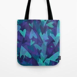 Heart Camouflage Tote Bag