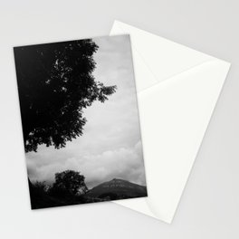View from the mountain Stationery Cards
