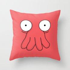 Dr. Zoidberg Throw Pillow