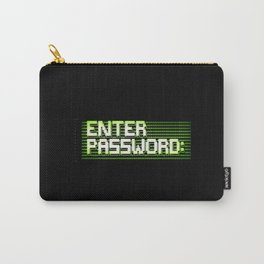 Enter password ascii clean Carry-All Pouch