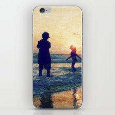 Beauty in the Blues iPhone & iPod Skin