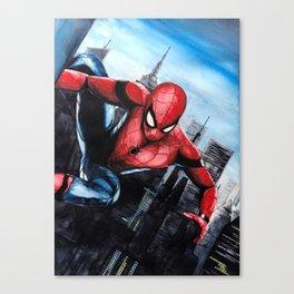 Spider-man: Homecoming Canvas Print