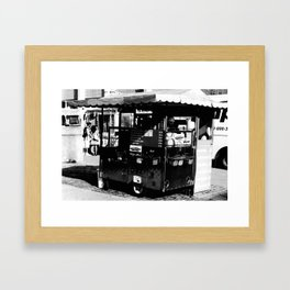 Hot Dog Stands of Toronto - I Framed Art Print