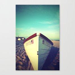 Lifeboat, Cape May Canvas Print