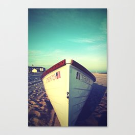 Lifeboat, Cape May Canvas Print
