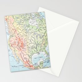 sweet land {west Stationery Cards