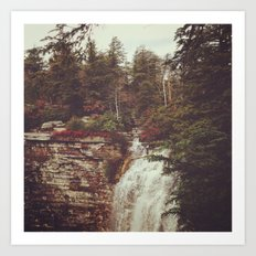 Shawangunk Mountains Waterfall Art Print