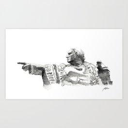 Bcn 6 Art Print