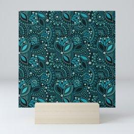 Scattering beads Mini Art Print