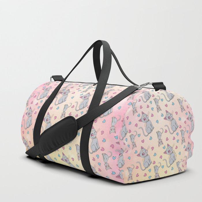 Diana Pattern Duffle Bag