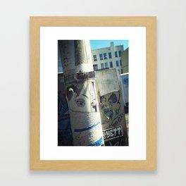 WAHTEVER.. Framed Art Print