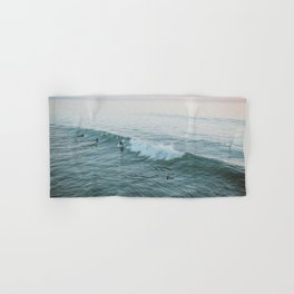 lets surf v Hand & Bath Towel