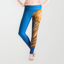 The Miraculous creature called a Jellyfish Leggings