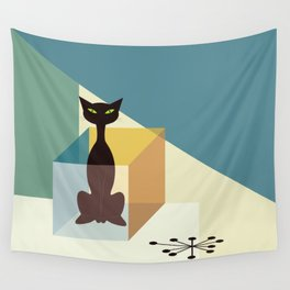 Schrodinger's cat Wall Tapestry