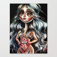 Insides Canvas Print