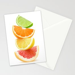 Citrus pieces Stationery Cards