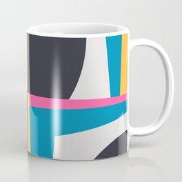 Modern Geometric 65 Blue Coffee Mug