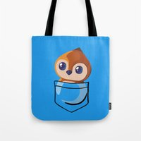 warcraft Tote Bags featuring Pepe! by SlothgirlArt