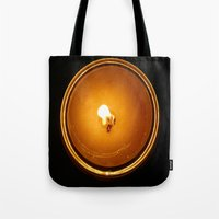 fifth element Tote Bags featuring Element by cottoncandirazor