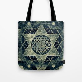 Sacred Geometry for your daily life- SRI YANTRA Tote Bag