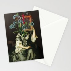 Florales Portrait Disaster Stationery Cards