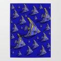 Angelfish Blue by rockettgraphics