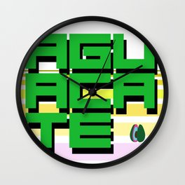 Aguacate Wall Clock
