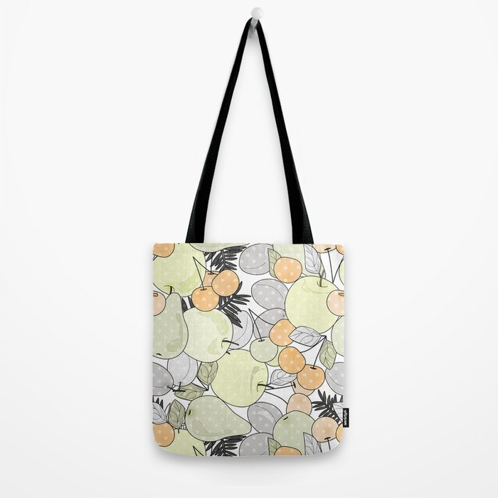 Fruit market . Retro . Tote Bag