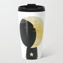 The day I kissed the Moon Travel Mug