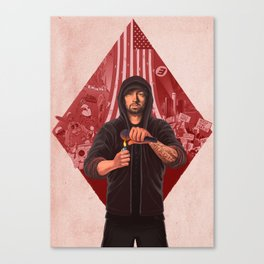 The Show (RED) Canvas Print