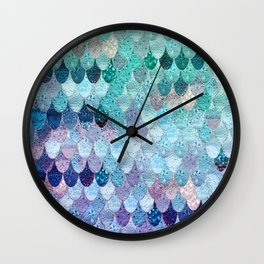 SUMMER MERMAID II Wall Clock