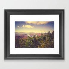 Endless Mountains Forever Wild Framed Art Print