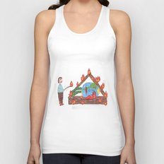 Mundinho - Burn Unisex Tank Top