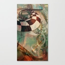 Unravelling Canvas Print