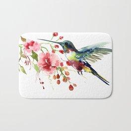 Hummingbird Bath Mat
