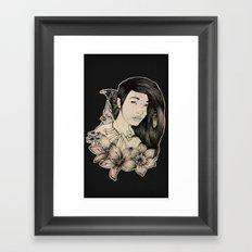 Plague Witch Framed Art Print