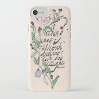 oscar wilde iPhone & iPod Cases featuring Oscar Wilde Quote  by TLG Creative