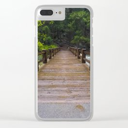 what a hike Clear iPhone Case