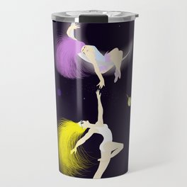 escaping to spaces Travel Mug