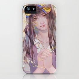 bisikan iPhone Case