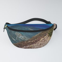 Storm at Sunset in Death Valley, California Fanny Pack